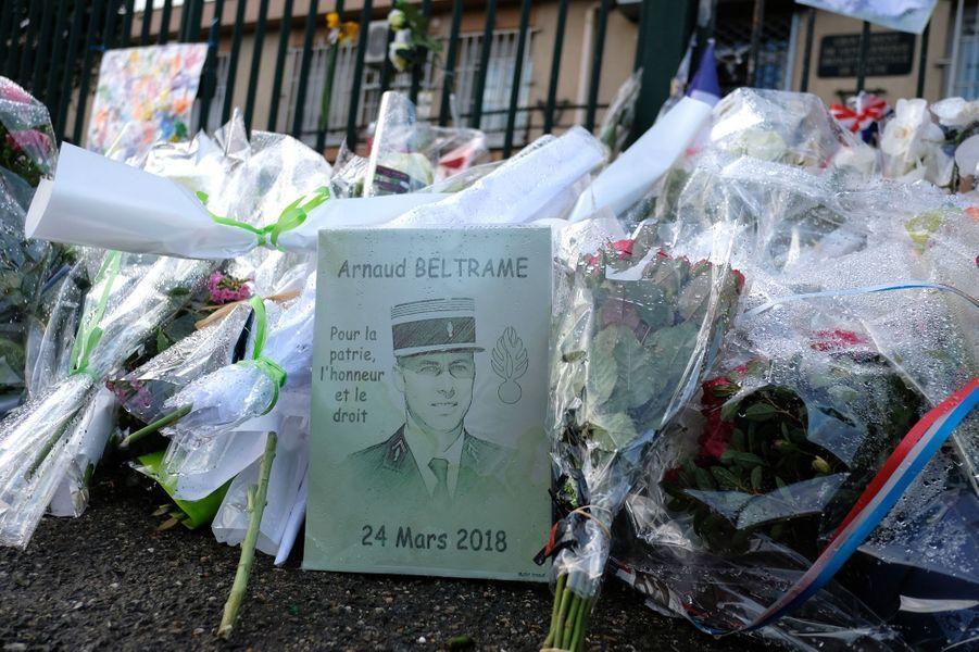 La France rend hommage à Arnaud Beltrame ce mercredi.