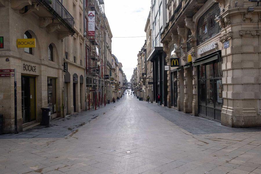 Rue Sainte-Catherine, à Bordeaux