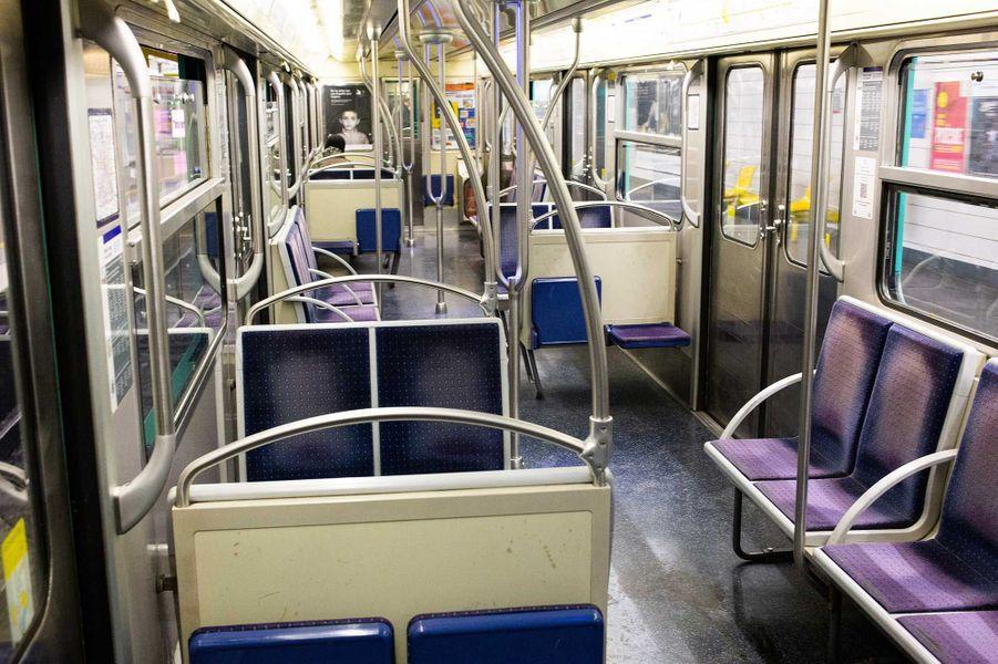 Le métro à Paris