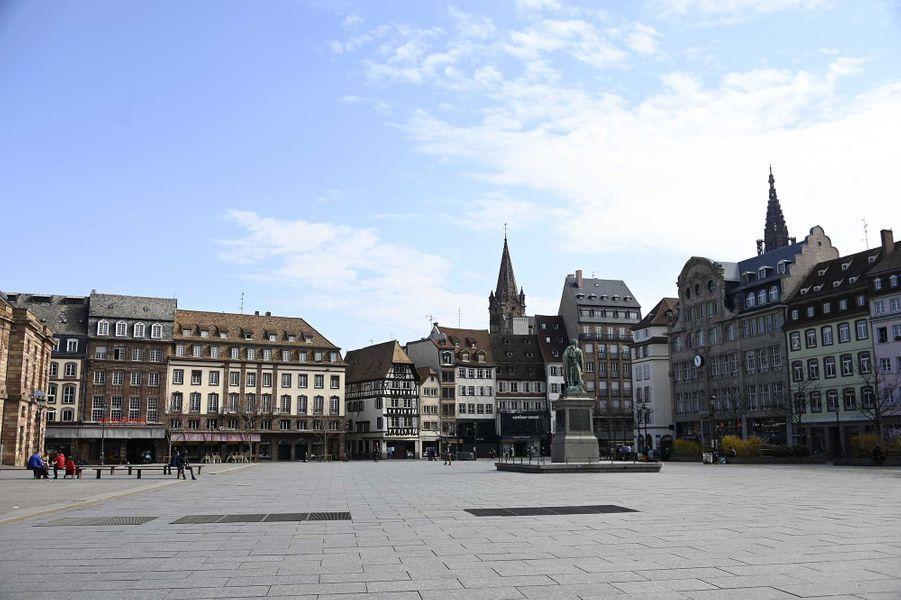 Place Kléber, à Strasbourg