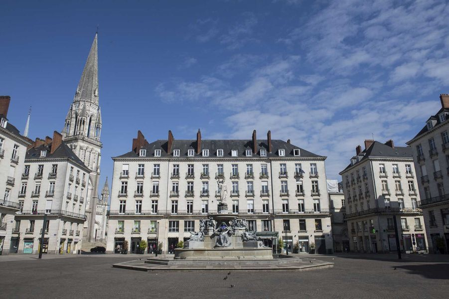 Place Royale, à Nantes