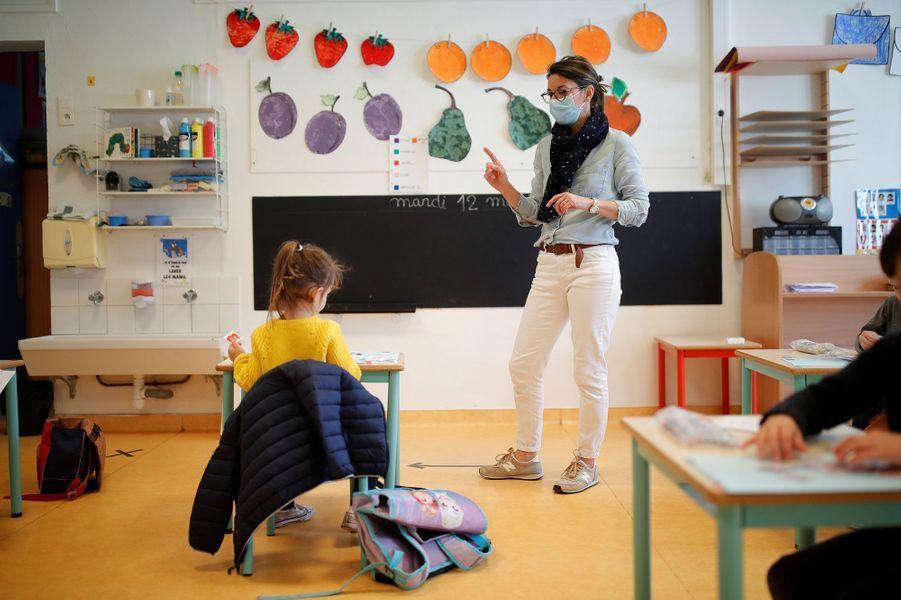 Une classe mardi à Saint-Sebastien-sur-Loire, jour de rentrée.