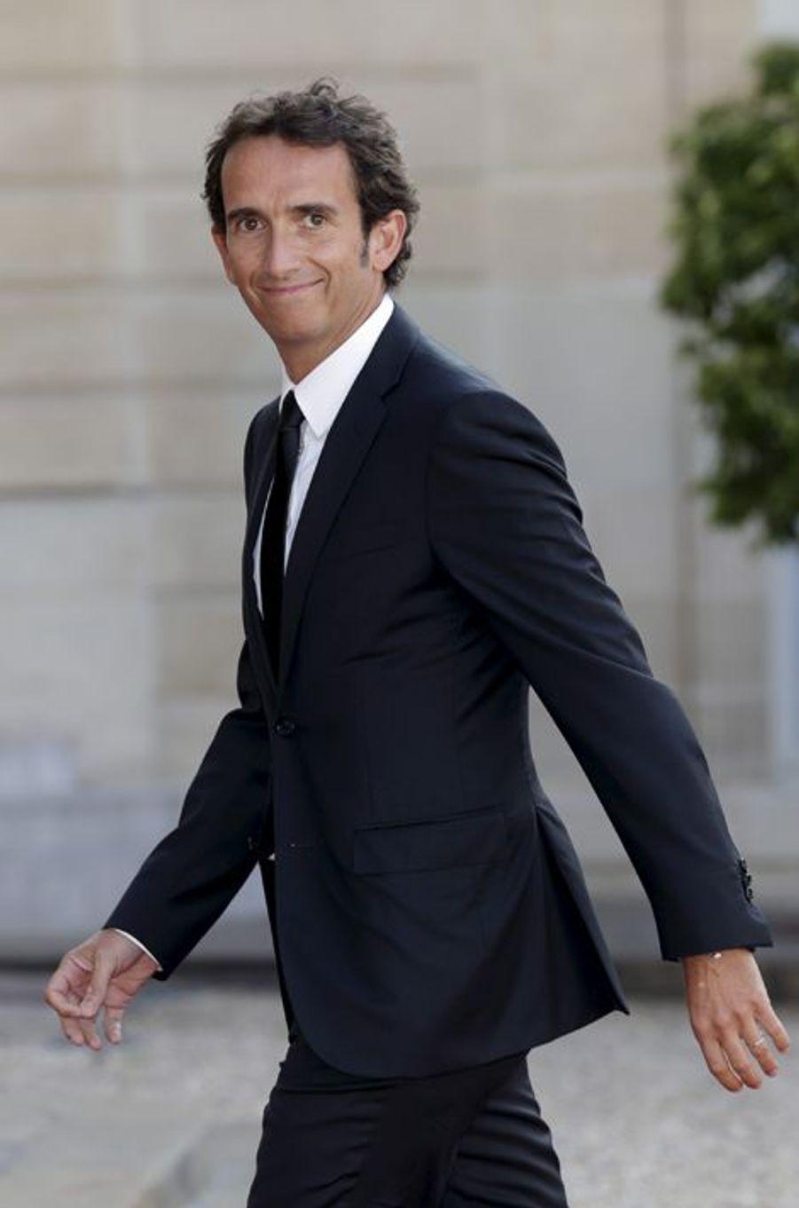 Alexandre Bompard à l'Elysée pour le dîner d'Etat donné en l'honneur du roi Felipe et de la reine Letizia d'Espagne