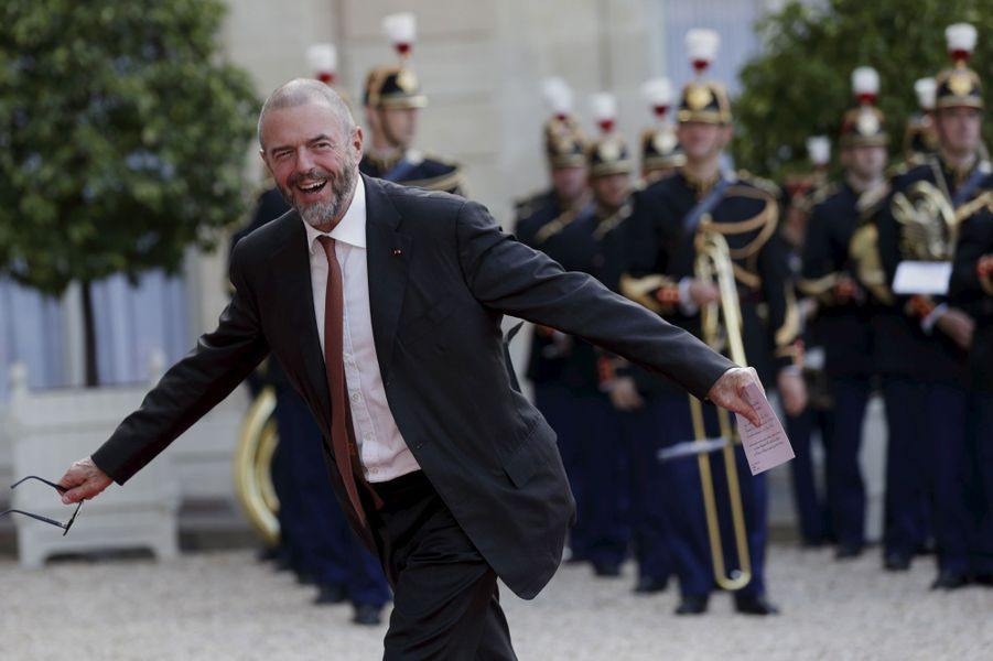 Jean-Paul Cluzel à l'Elysée pour le dîner d'Etat donné en l'honneur du roi Felipe et de la reine Letizia d'Espagne