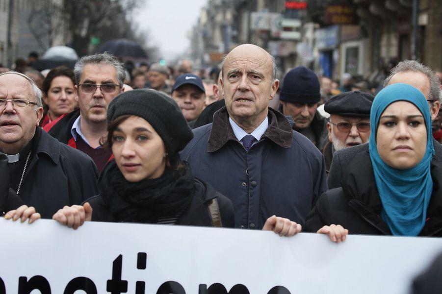 Marche républicaine à Bordeaux