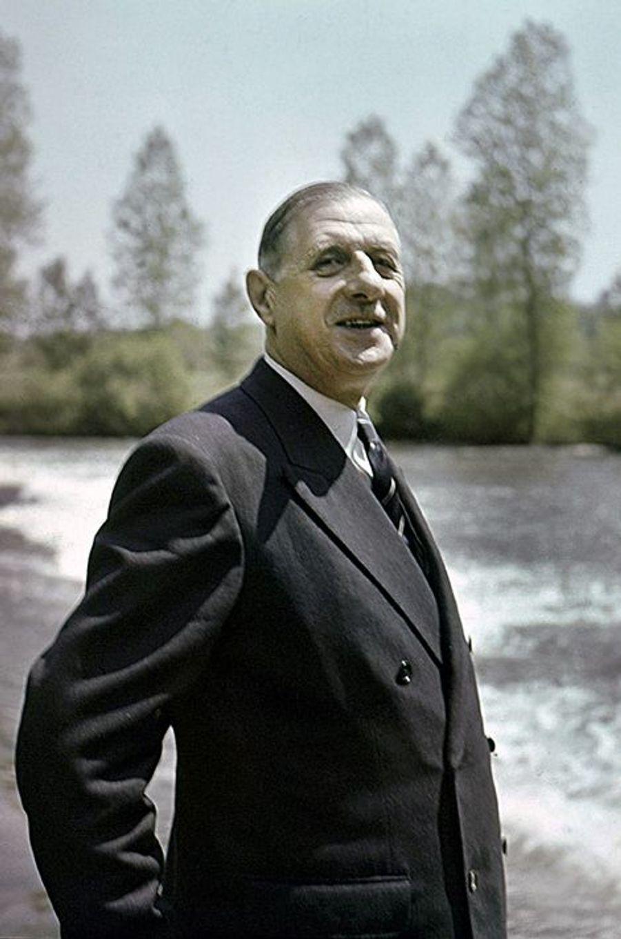 Le Général près de Pèrigueux, 1951