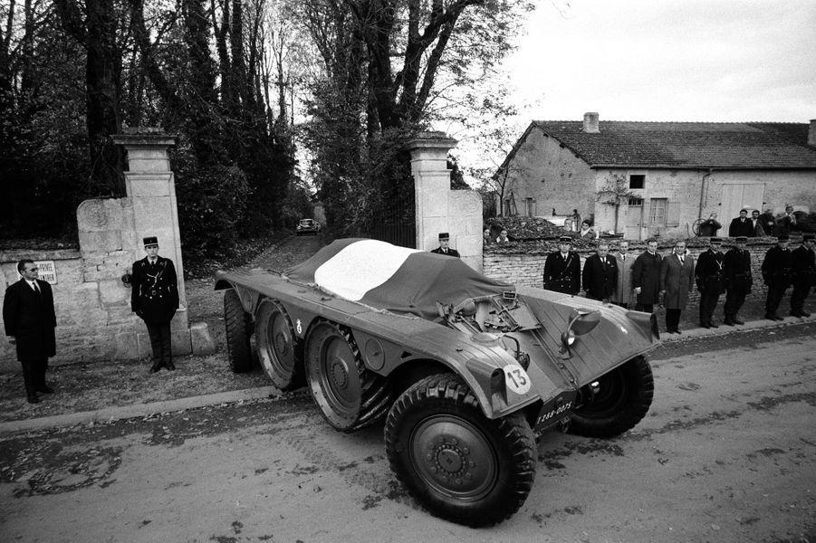 Obsèques du Général de Gaulle, 12 novembre 1970