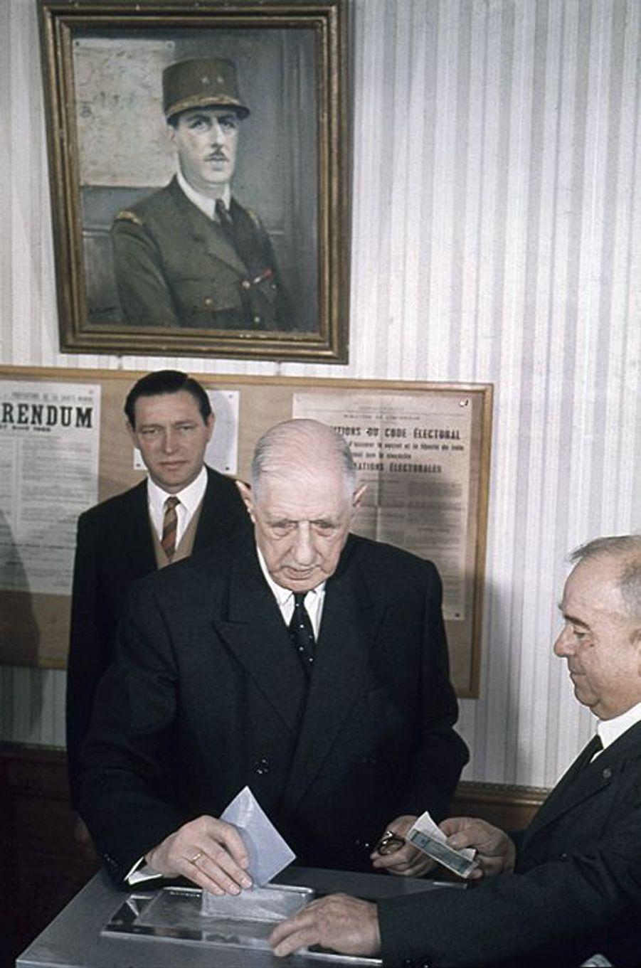 Référendum sur la régionalisation et sur la transformation du Sénat du 27 avril 1969