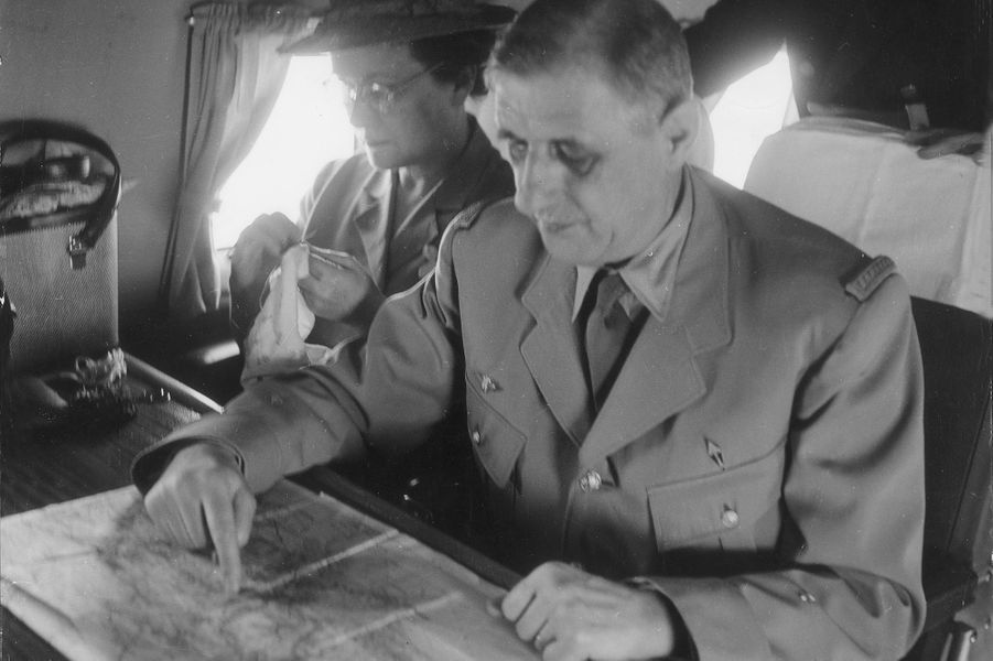 Voyage du Général de Gaulle en Afrique, du 4 mars au 1er avril 1953