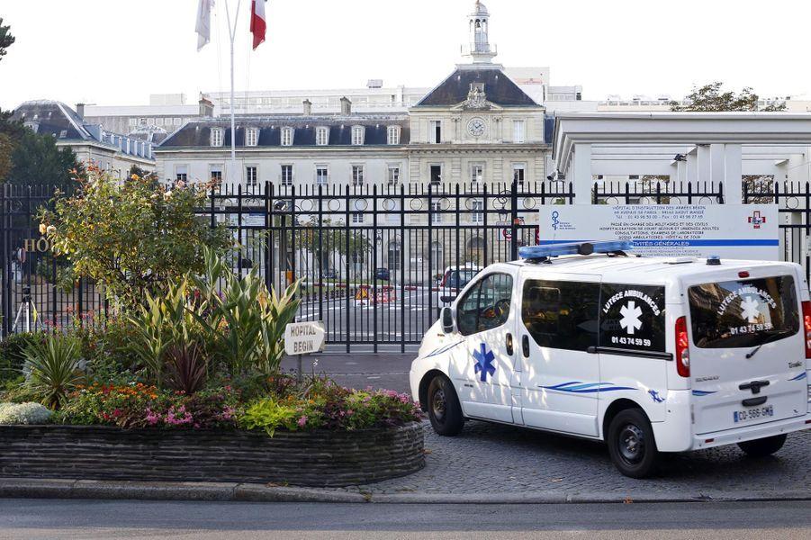 L'hôpital militaire Bégin où a été soignée l'infirmière de MSF nommée chevalier