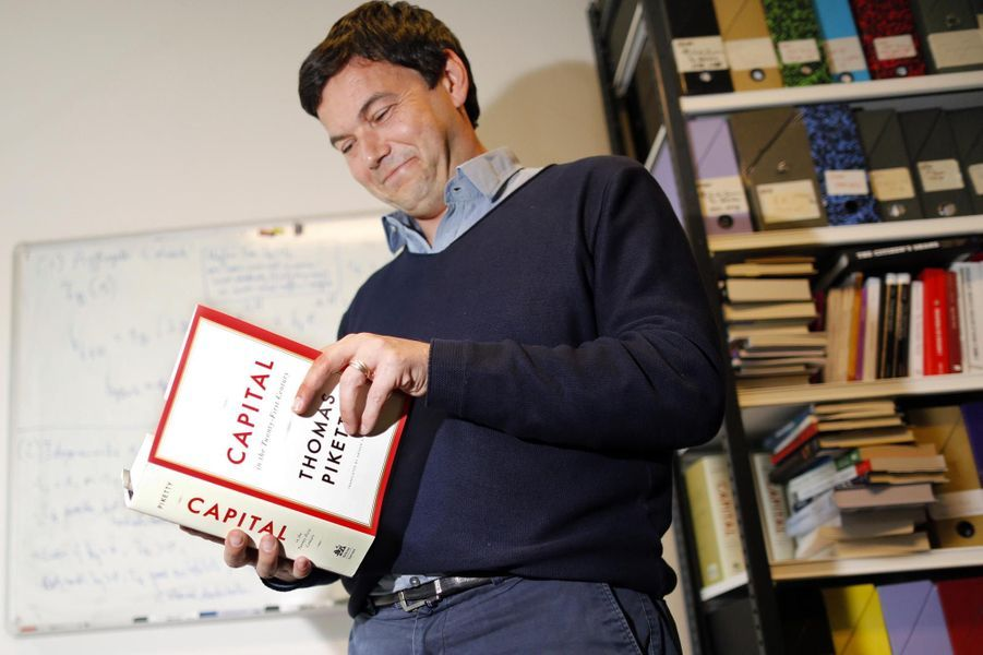 Thomas Piketty, nommé chevalier