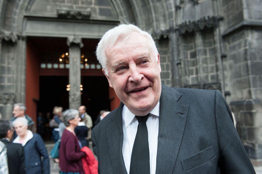 Michel Rollier aux obsèques de François Michelin à Clermont-Ferrand