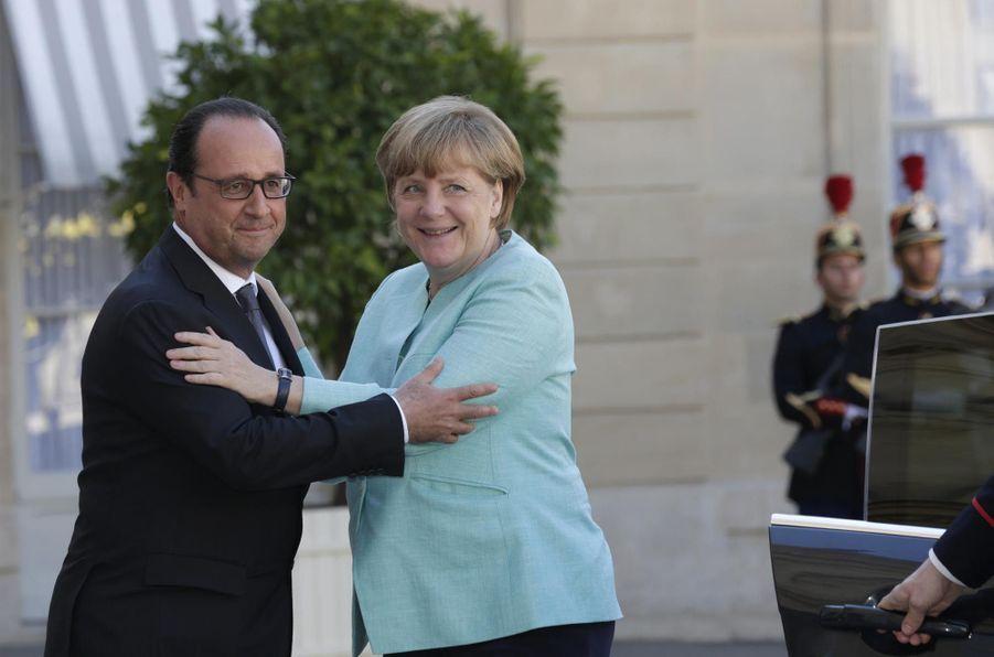 Hollande et Merkel sur la même longueur d'onde