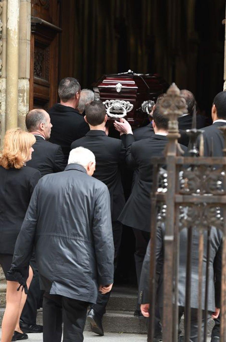 Les obsèques de Florence Arthaud à Paris