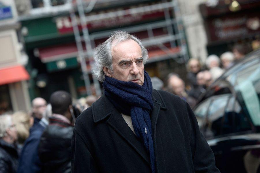 Patrick Mahé aux obsèques de Florence Arthaud à Paris