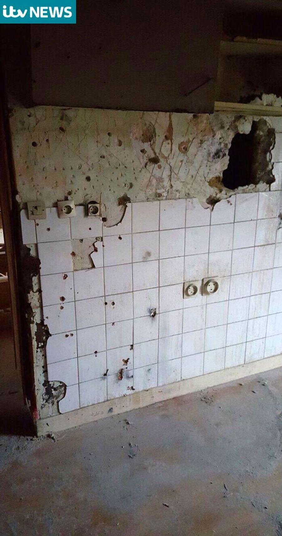 L'appartement de Saint-Denis après l'assaut