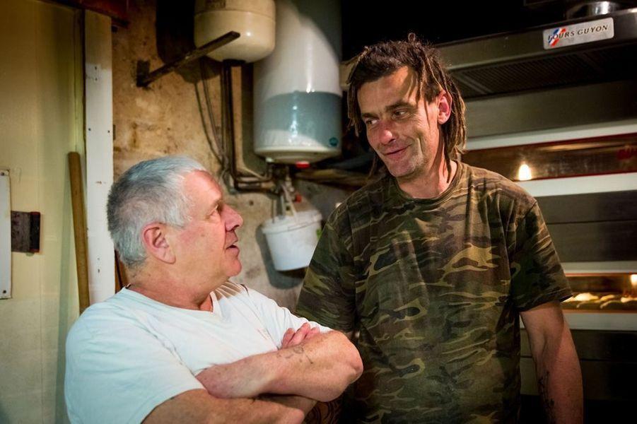 Michel Flamand et Jérôme Auclan