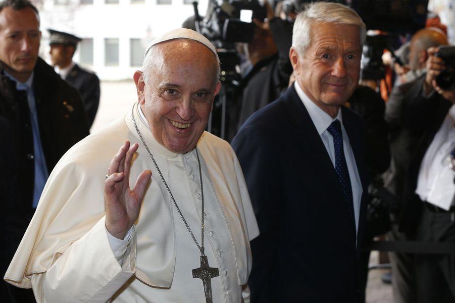Le pape François au Conseil de l'Europe