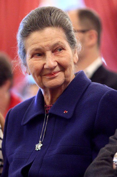 Simone Veil, 3ème du classement des personnalités préférées des Français