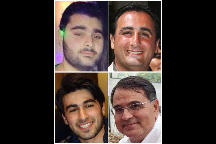 Les victimes de la prise d'otages de l'HyperCacher: Philippe Braham, Yohan Cohen, Yoav Hattab et François Michel Saada