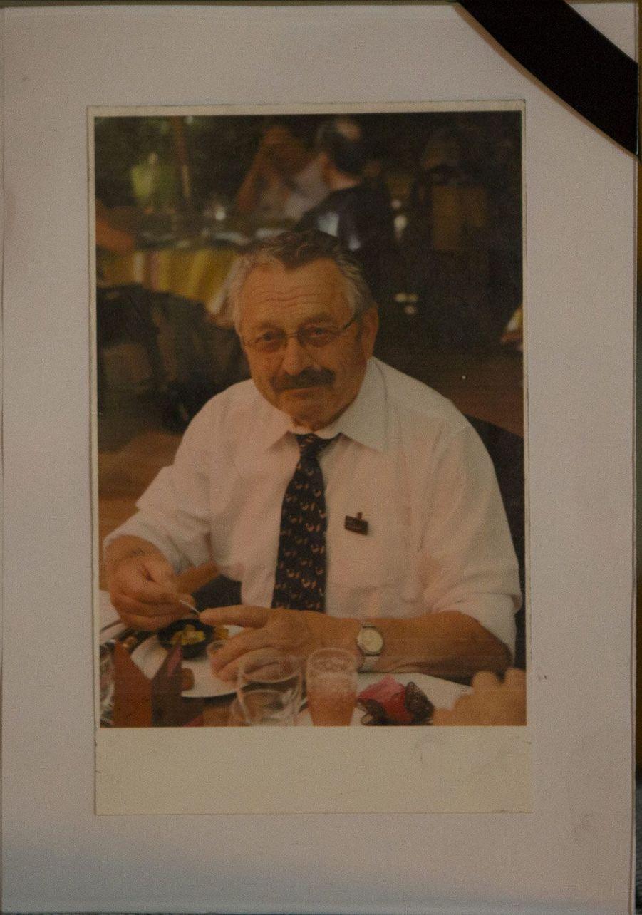 Michel Rogerie, ancien maire du Petit-Palais et président du club du troisième âge