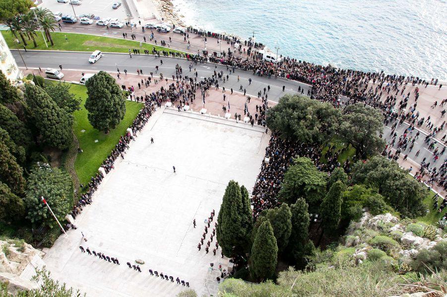Marche républicaine à Nice