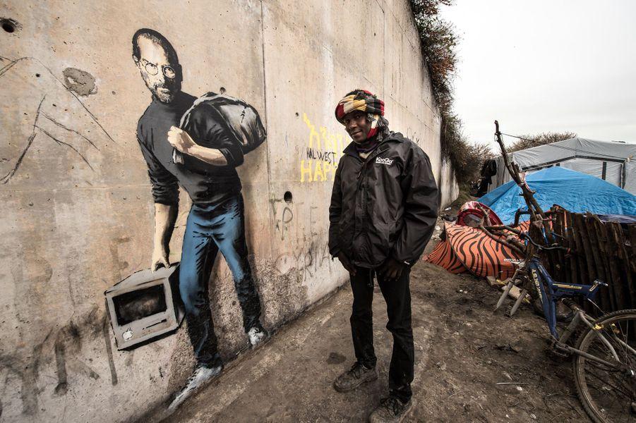 Trois œuvres de Banksy découvertes à Calais