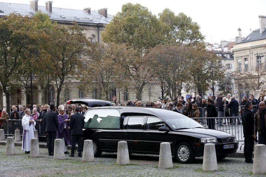 Un hommage à Christophe de Margerie a été rendu au sein de l'église Saint-Sulpice à Paris