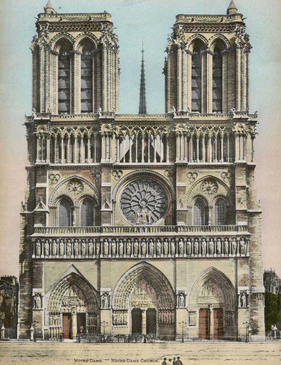 Notre-Dame de Paris en 1905.