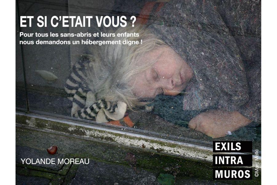 """Yolande Moreau pour """"Et si c'était vous"""", l'action photographique, collective et solidaire d'Exils Intra Muros."""