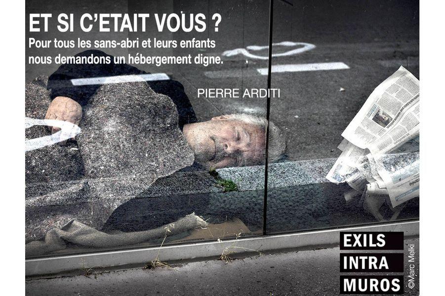 """Pierre Arditipour """"Et si c'était vous"""", l'action photographique, collective et solidaire d'Exils Intra Muros."""