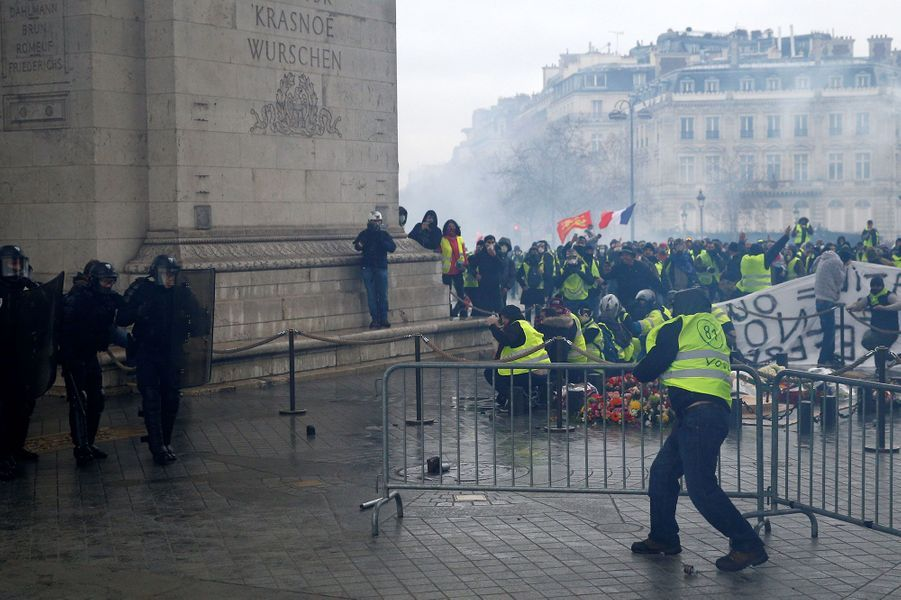 L'Arc de Triomphe, samedi