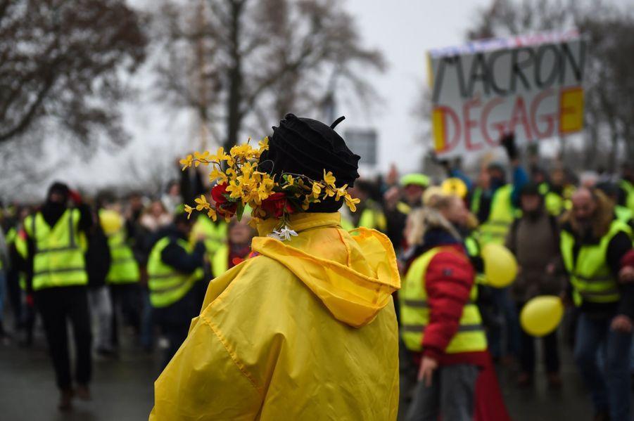 Manifestation Des Gilets Jaunes À Bourges ( 3