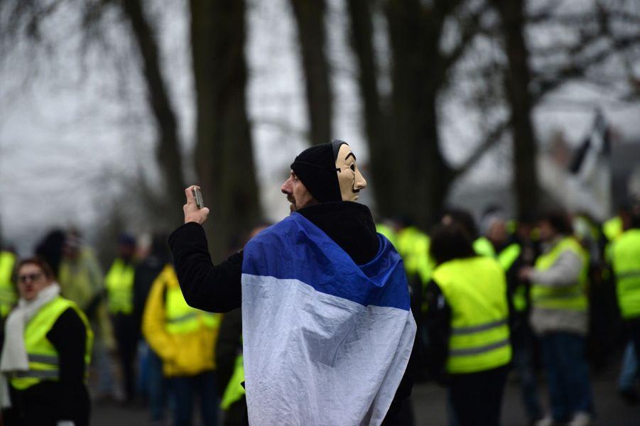 Manifestation Des Gilets Jaunes À Bourges ( 4