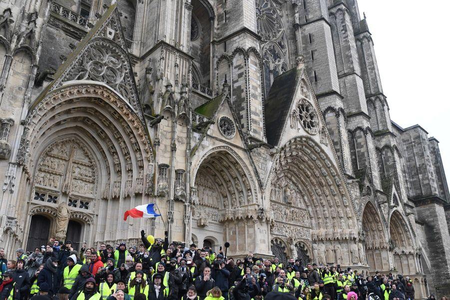 Manifestation Des Gilets Jaunes À Bourges ( 8