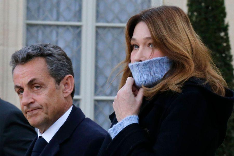 Nicolas Sarkozy et Carla Bruni-Sarkozy