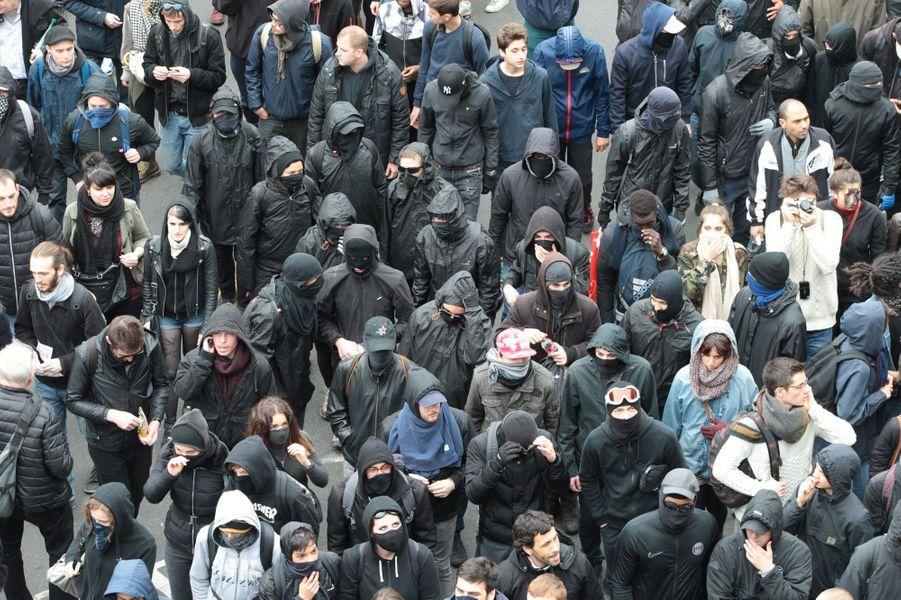 Dans le cortège parisien