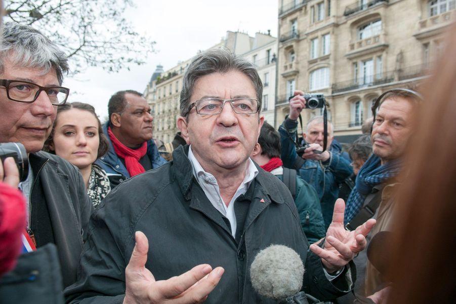 Jean-Luc Mélenchon à Paris