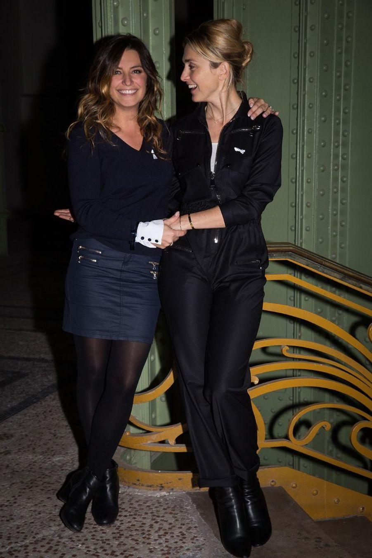 les actrices Julie Gayet et Laetitia Milot.