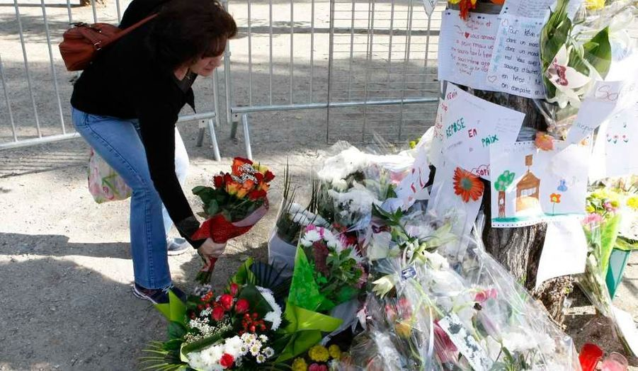 Des fleurs pour Sofiane et Kevin