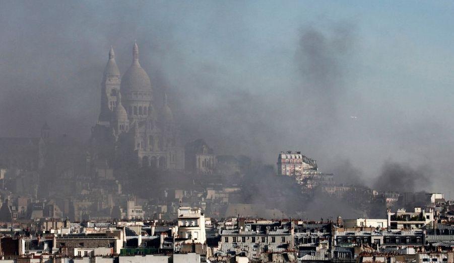 Incendie à Montmartre