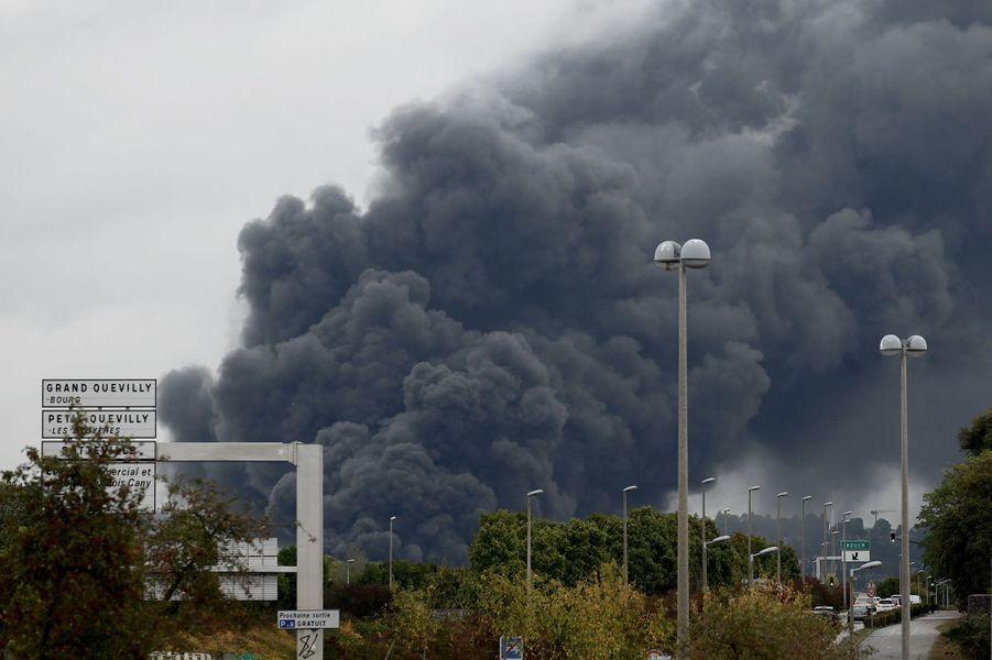 L'explosion de l'usine à Rouen