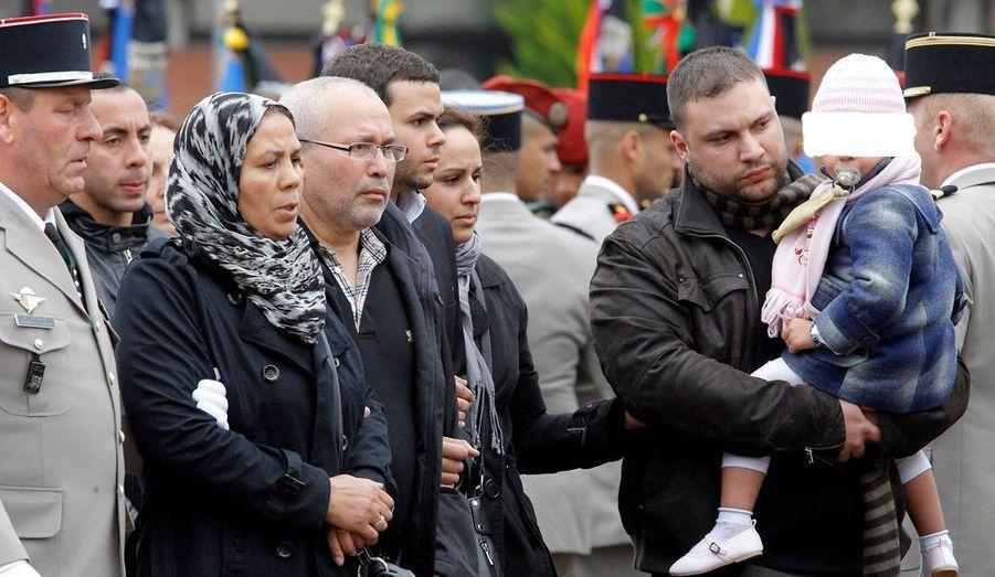 Les familles des victimes