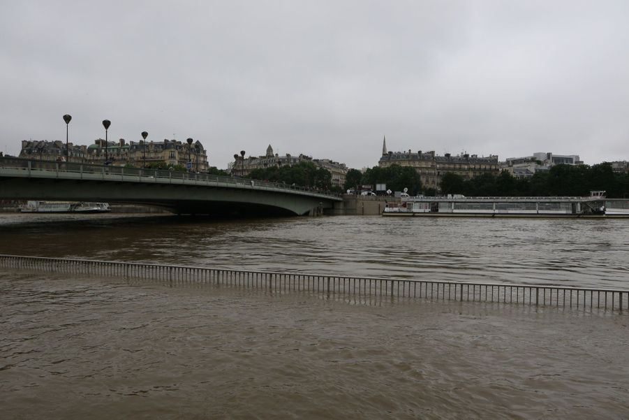 A Paris, une crue de la Seine inédite depuis plus de 30 ans