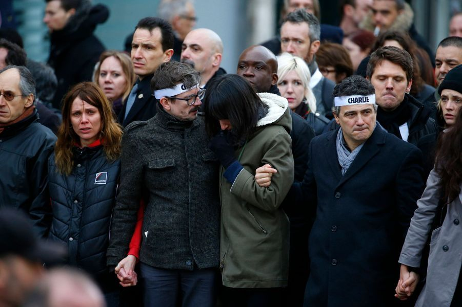 Luz et les amis de Charlie Hebdo