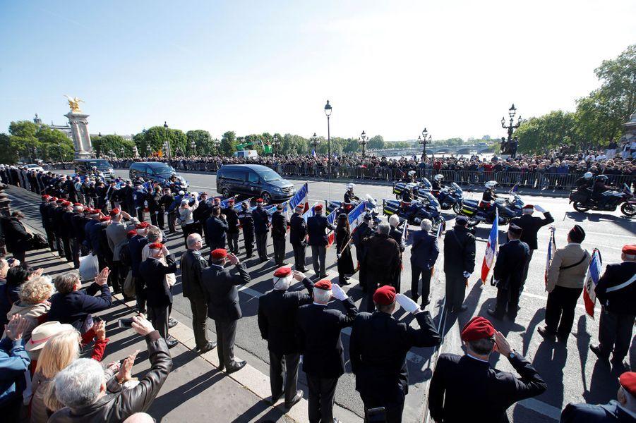 L'hommage national aux deux soldats tués au Burkina.