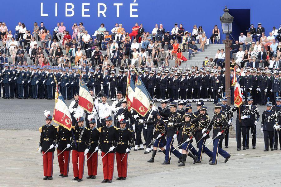 Le défilé du 14-Juillet.