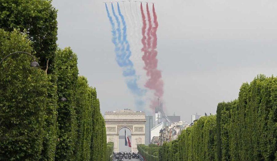 Le passage de la Patrouille de France