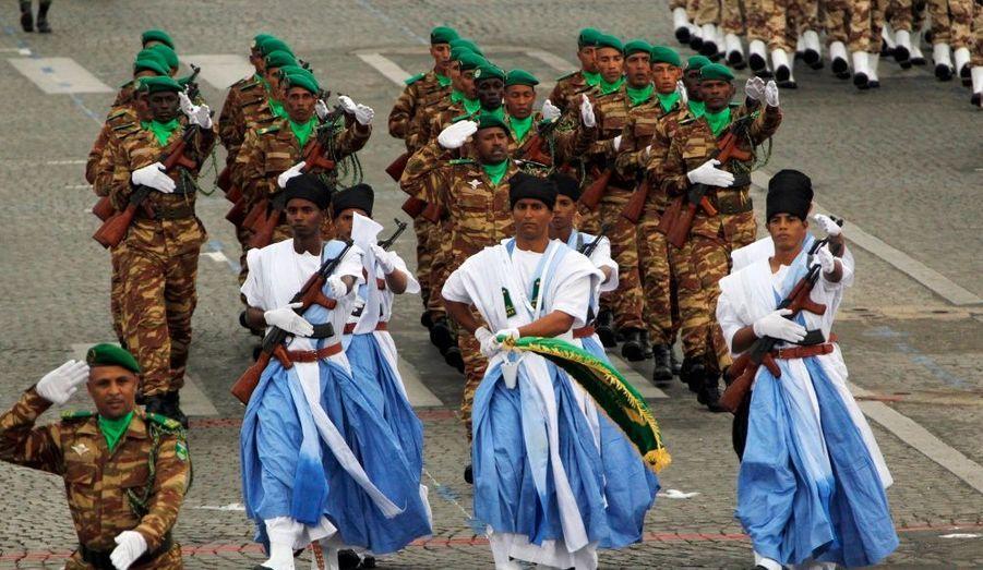 Troupes Mauritaniennes