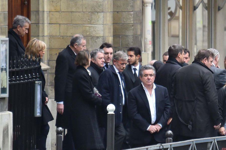 Au milieu, Thierry Rey et son fils Martin, né de sa relation avec Claude Chirac